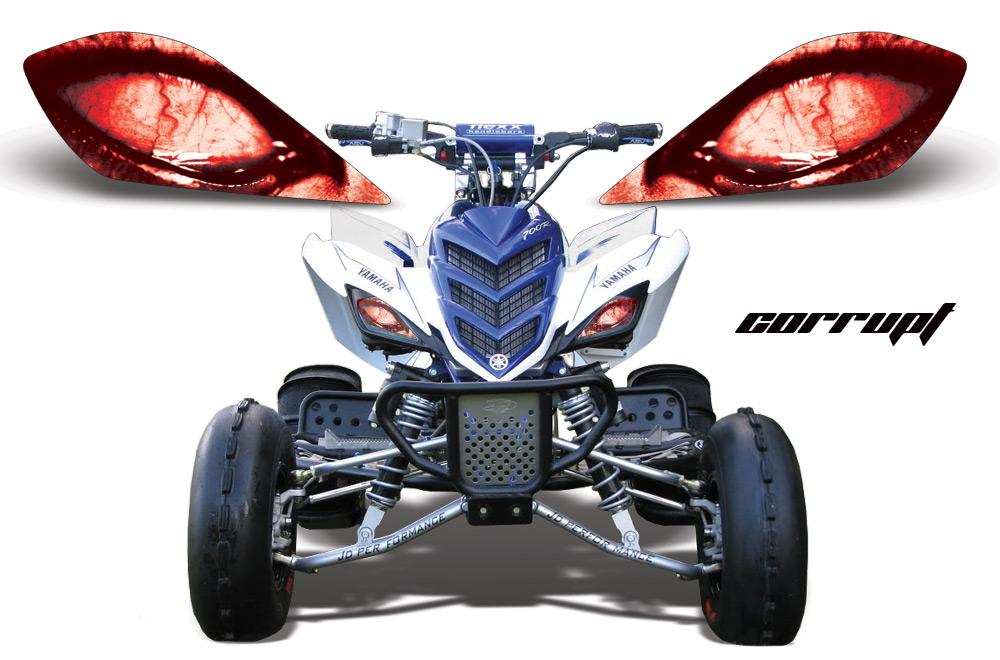 Yamaha Raptor Head Light Eye Graphics For Raptor 700 250 350