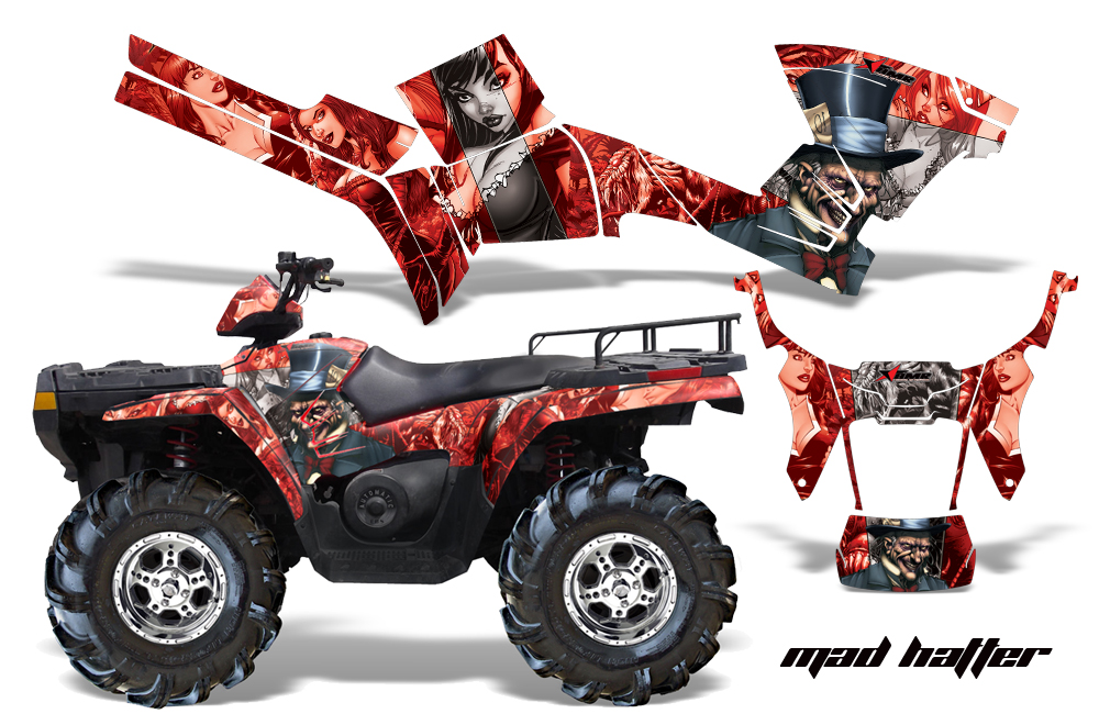 Polaris Sportsman 500 800 2005 2010 Graphics Kit