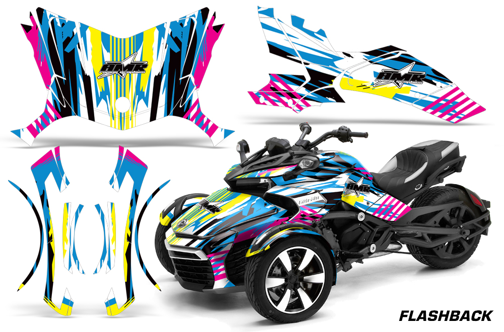 Can Am Brp Spyder F3 S Graphics Kit
