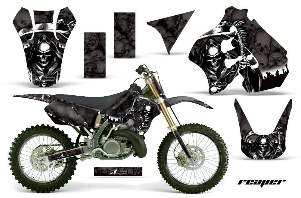 Graphics Kit For Suzuki Rm