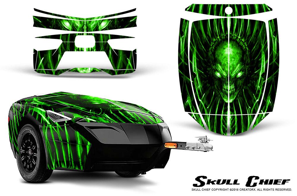 Brp Spyder >> Can-Am BRP Spyder Freedom Trailer Graphics Kit