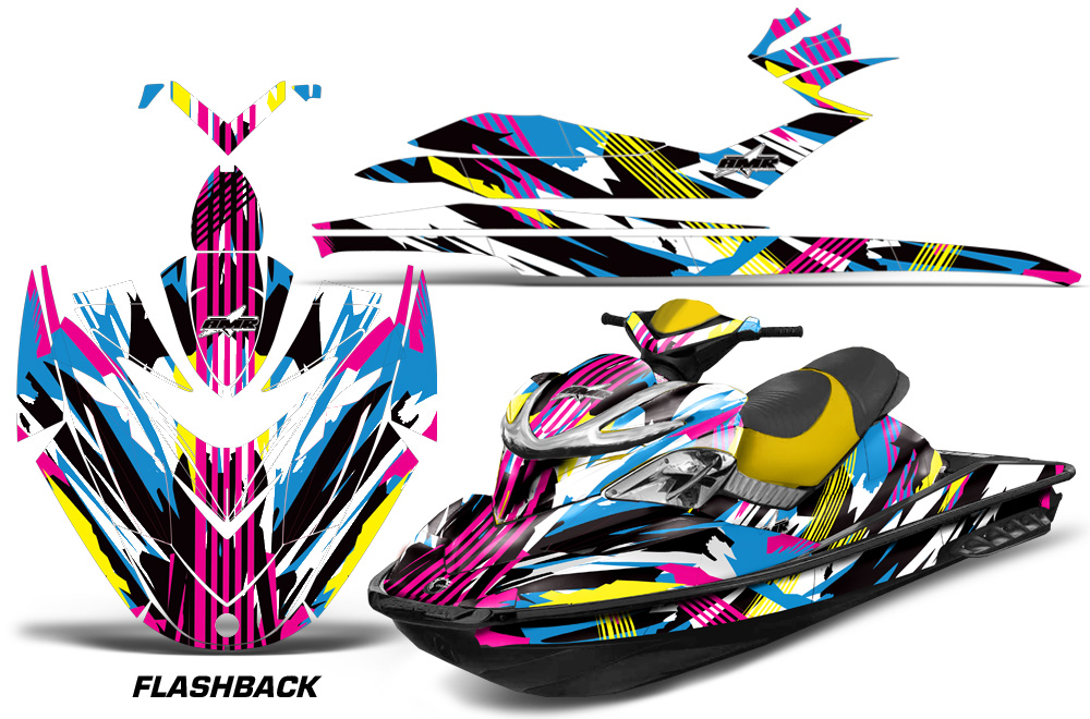 Sea Doo Rxp Sitdown 2004 2011 Jet Ski Graphics Kit
