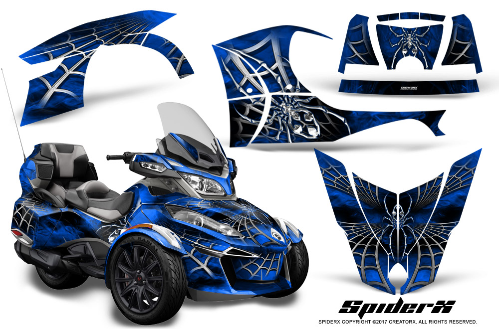 Brp Can Am Spyder >> Can-Am BRP Spyder RTS 2014-2018 Graphics with Trim Kit