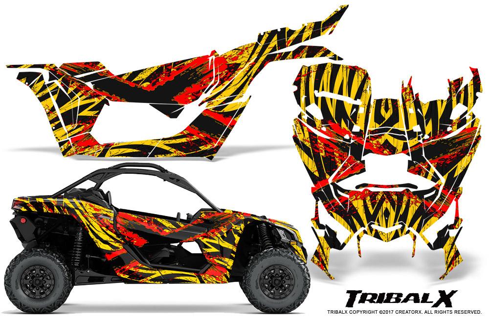 Can Am Brp Maverick X3 X Ds X Rs 2016 2018 Graphics Kit