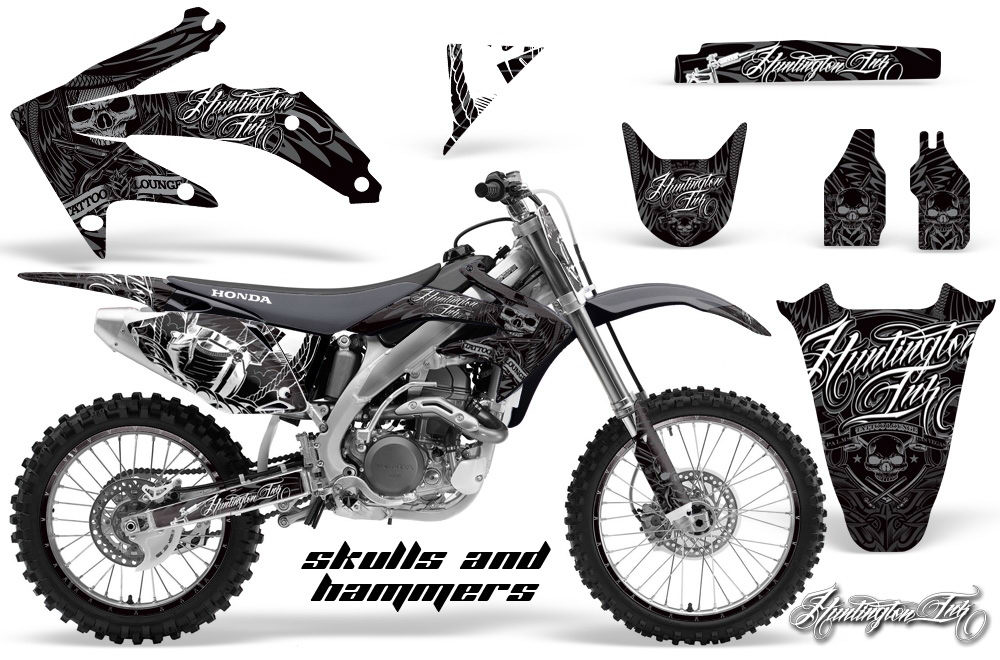 huntington ink motocross graphic sticker kit