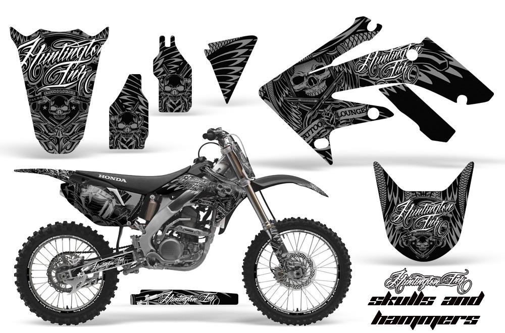 Huntington Ink Motocross Graphic Sticker Kit