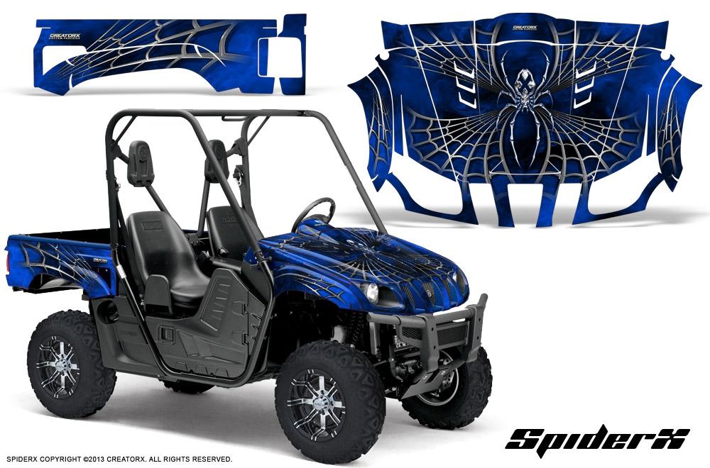 Blue Yamaha Rhino