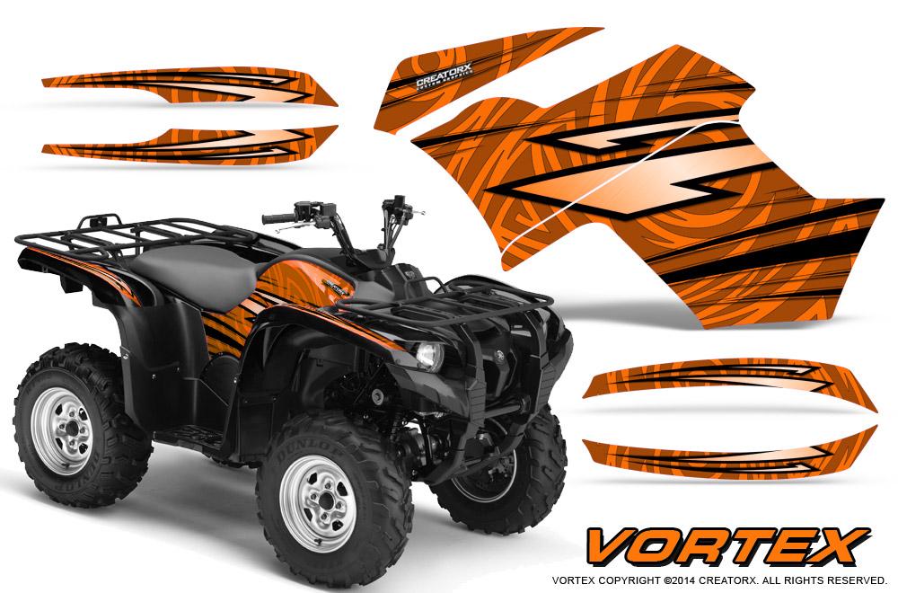 Yamaha Grizzly 700 07 15 550 07 14 Graphics Kit