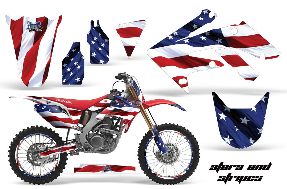 Honda Motocross Graphic Kits Honda Mx Decals And
