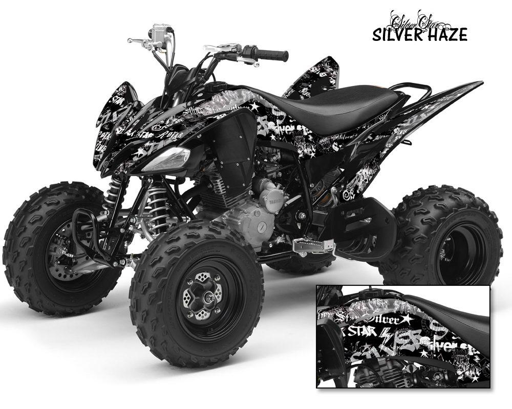 Silver Star Yamaha Raptor 700 660 350 250 Graphics Kit