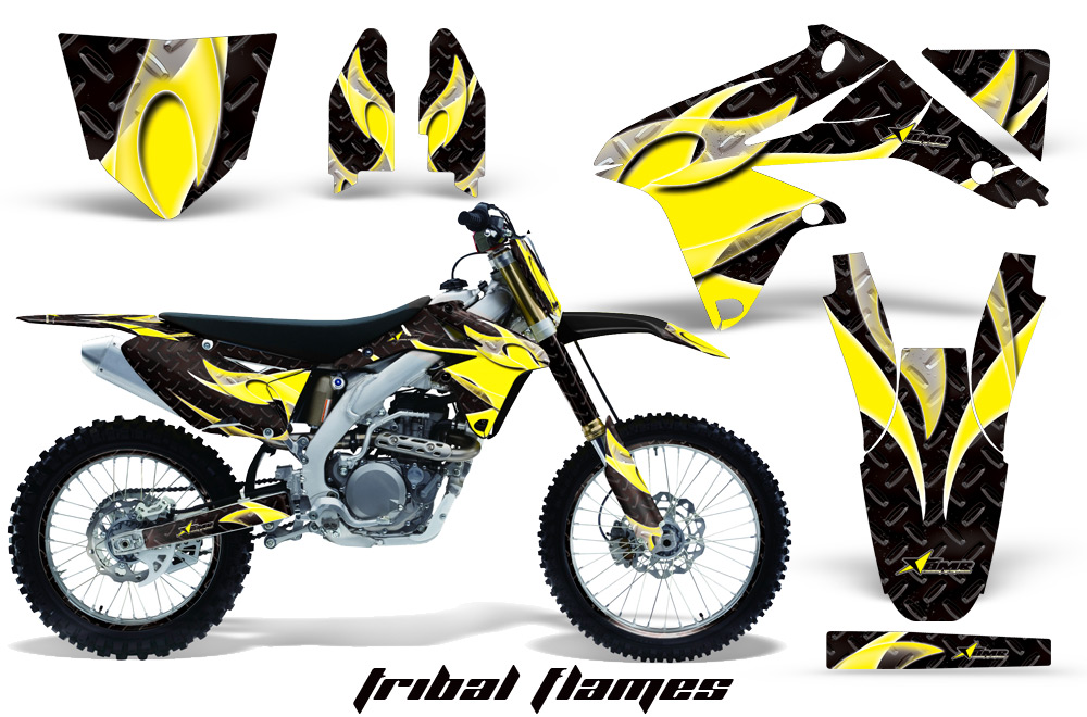 Suzuki Dirt Bike Graphic Kits For Rmz 450 Rmz 250 Rm 125
