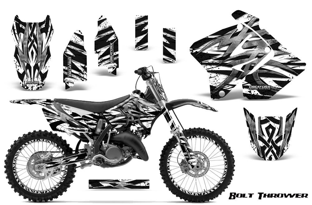 suzuki dirt bike graphic kits for rmz 450  rmz 250  rm 125