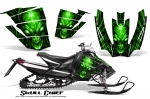 Arctic Cat Sno Pro Race 500/600 Graphics Kit