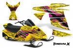 Ski-Doo Mini Z Kids Graphics Kit 2003 - 2008