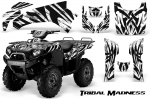 Kawasaki Brute Force 650i 4x4 Quad Graphics 2006-2012