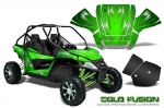 Arctic Cat Wildcat EPS UTV Graphics Kit - Includes Rock Guard Graphics