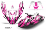 Sea Doo Bombardier Spark (2 UP) 2015-2016 Jet Ski Graphics Kit