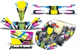 KG Kid Baby Kart Graphics Kit for Faring Pods Spoiler