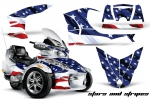Can-Am BRP Spyder RTS 2010-2013 Graphics Kit