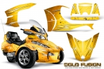 Can-Am BRP Spyder RTS 2010-2013 Graphics with Trim Kit