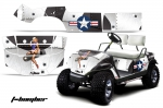 Yamaha Golf Cart 1995-2006 Graphics Kit