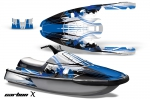 Yamaha Wave Runner 3 Jet Ski Graphics Kit 1991-1996
