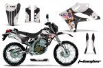 Kawasaki KLX250 2004-2007 Graphics Kit
