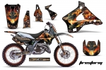 Kawasaki KX125 KX250 1994-1998 Graphics Kit