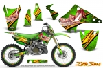 Kawasaki KX125 KX250 2003-2016 Graphics Kit