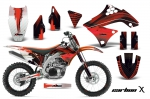 Kawasaki KX450F 2009-2011 Graphics Kit