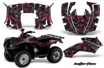 Honda Recon ES Fourtrax Graphics Kit 2005-2014