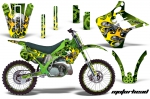 Kawasaki KX125 KX250 1990-1991 Graphics Kit