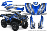Can-Am Outlander 500/650 XT DPS SST G2 2013-2016 Graphics Kit