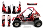 Honda Odyssy 350 4x4 86-87 Graphics Kit