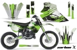 Kawasaki KX80 KX100 1995-1997 Graphics Kit