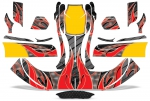 Custom Kart Graphics - Buil Your Own - Bumpers - Fairing - Pods
