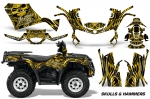 Can-Am Outlander 400 2009-2014 Graphics Kit