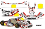 KG Freeline Birel Kart Graphics Kit