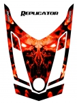 Ski-Doo Can-Am Rev XR Hood Graphics Kit
