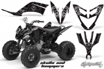 Huntington Ink Yamaha Raptor 250 350 660 700 Graphics Kit