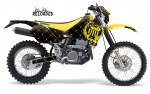 Silver Star Suzuki MX Graphics Kit