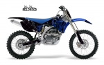 Silver Star Yamaha MX Graphics Kit