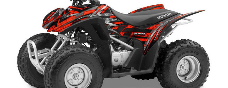 Apache Grey Senge Graphics Kit compatible with Yamaha 2014-2020 YFZ 450R Graphics Kit with blank number plates GLOSS FINISH