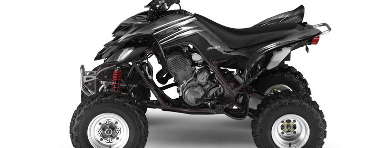 Yamaha Raptor 660 CREATORX Graphics Kit Cold Fusion Black