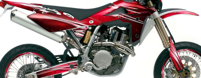 Husqvarna SMR 05-07 Graphics Kit Cold Fusion Red