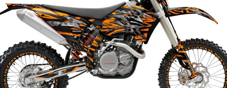 KTM C5 Profile Bolt Thrower Orange