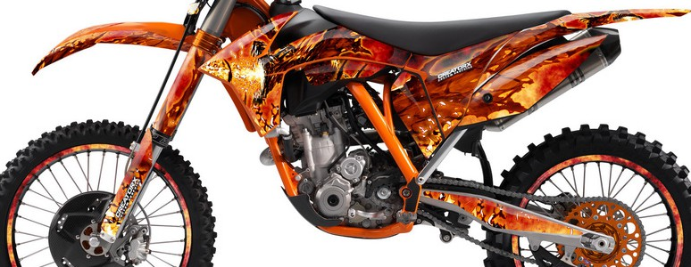 KTM C7 2011 Graphics Kit Dragonblast