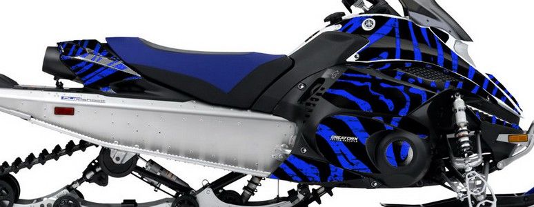 Yamaha FX Nytro CREATORX Graphics Kit ZCamo Blue